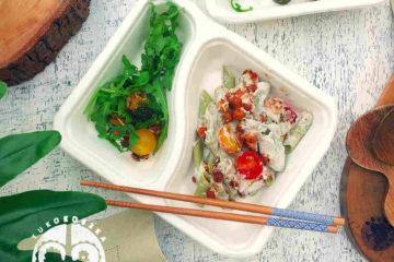 catering wegański dieta ekologiczne pudełko